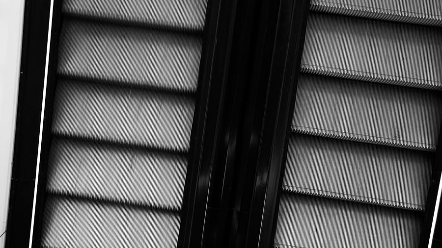 Rolltreppen können auch fotogen sein (MyZeil)