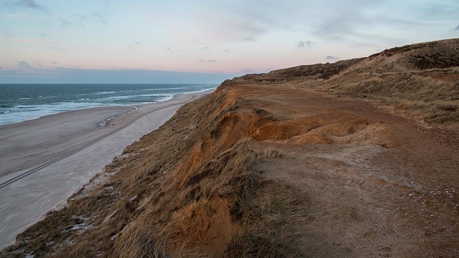 Das Rote Kliff bei Kampen