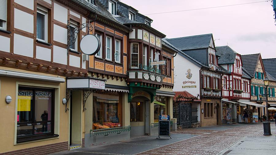 In der Altstadt Ahrweilers