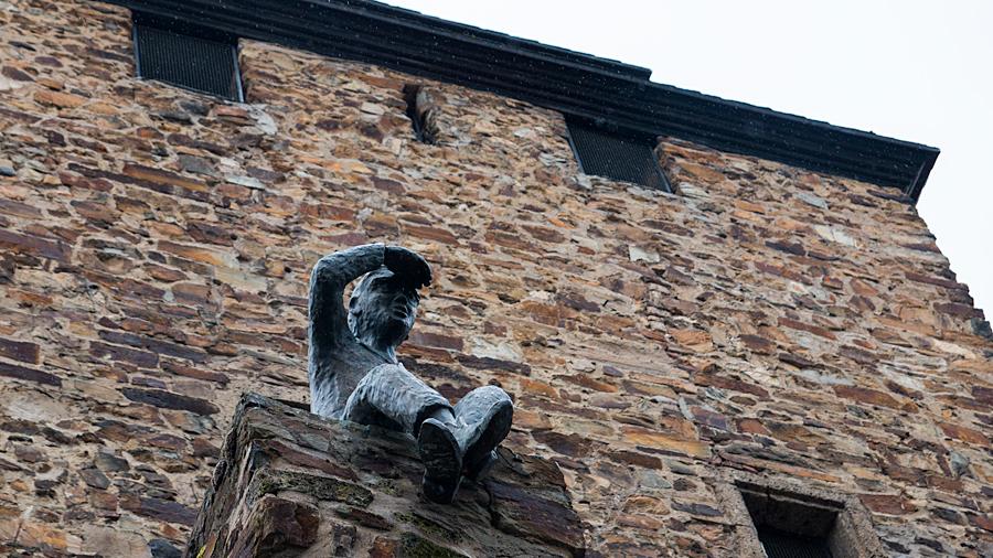 Der Mauerspäher am Niedertor