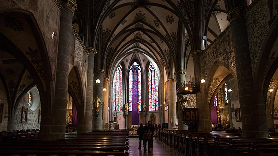 Innenraum der Pfarrkirche