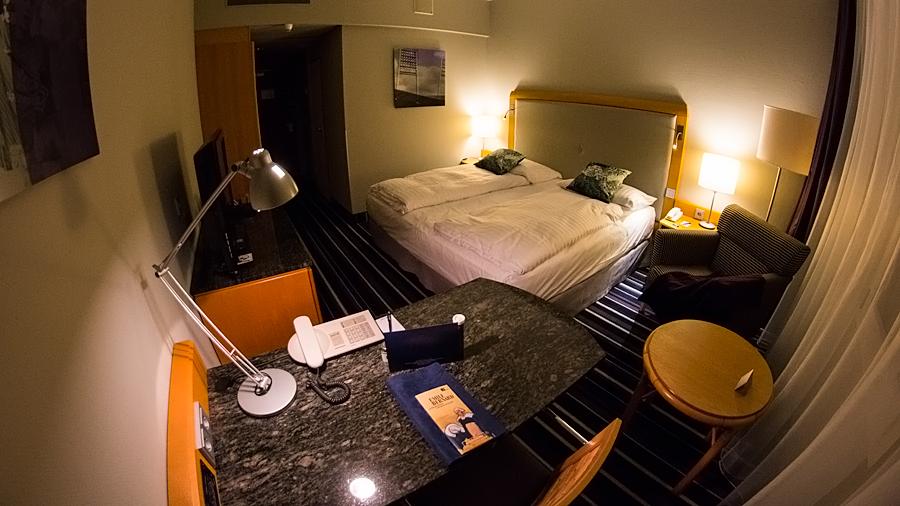 Superior-Zimmer im Radisson Blu Hotel Bremen