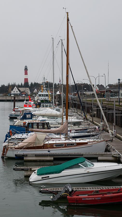 Im Hafen von Hörnum