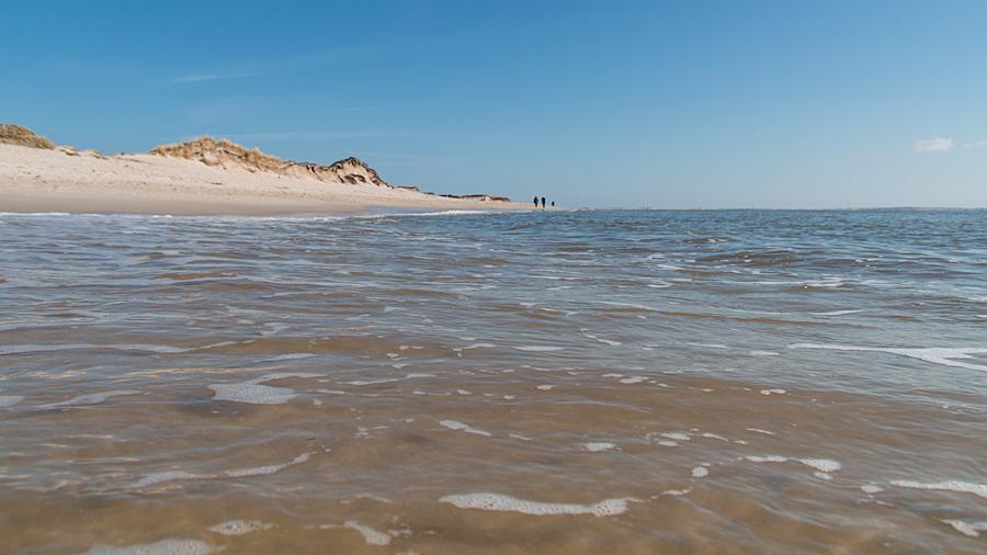 Frisches Nordseewasser