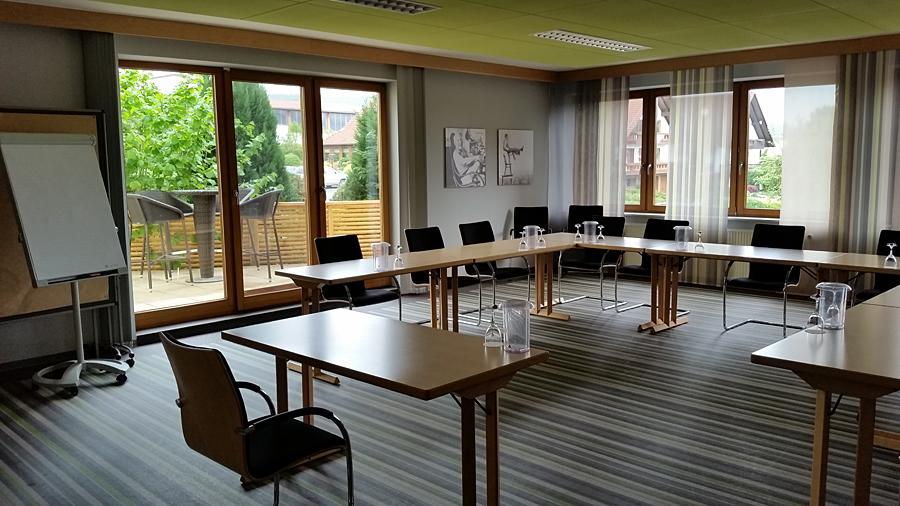 Heller und moderner Tagungsbereich