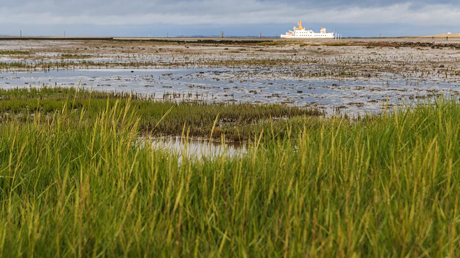 Wattenmeer vor Bensersiel