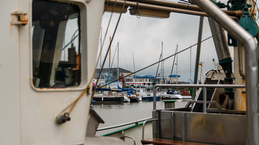 Fischkutterimpressionen im Bensersieler Hafen