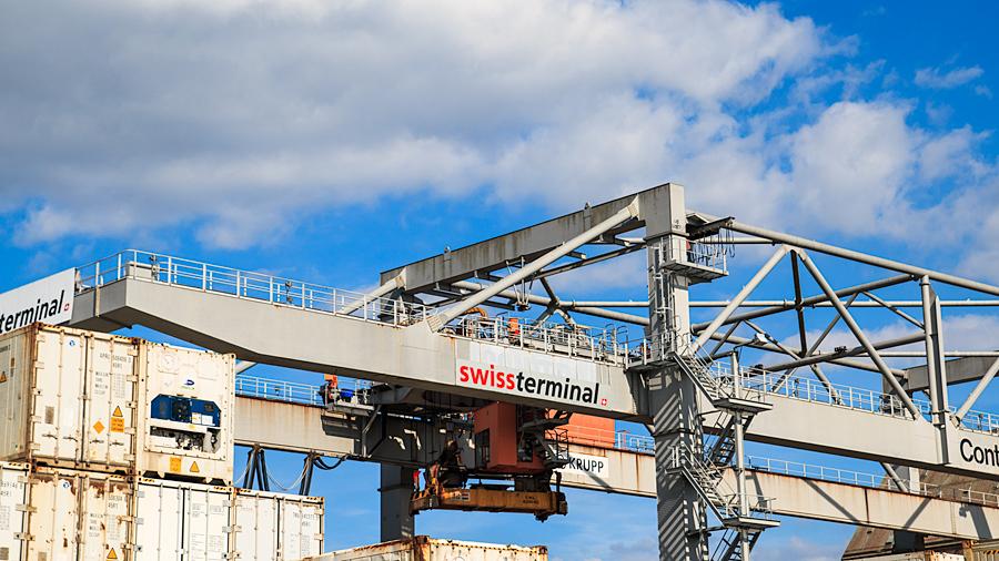 Baseler Containerterminal - oder doch Hamburg?