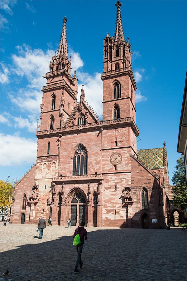 Hauptportal des Basler Münsters