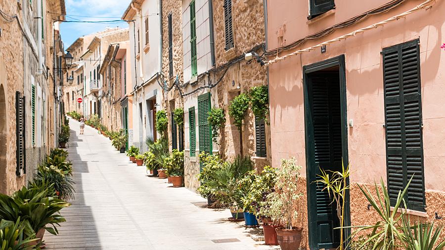 Innenstadt von Alcúdia