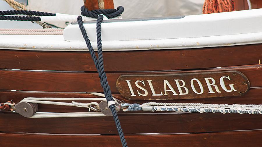 """Grönlandkutter """"Islaborg"""" im Yachthafen"""
