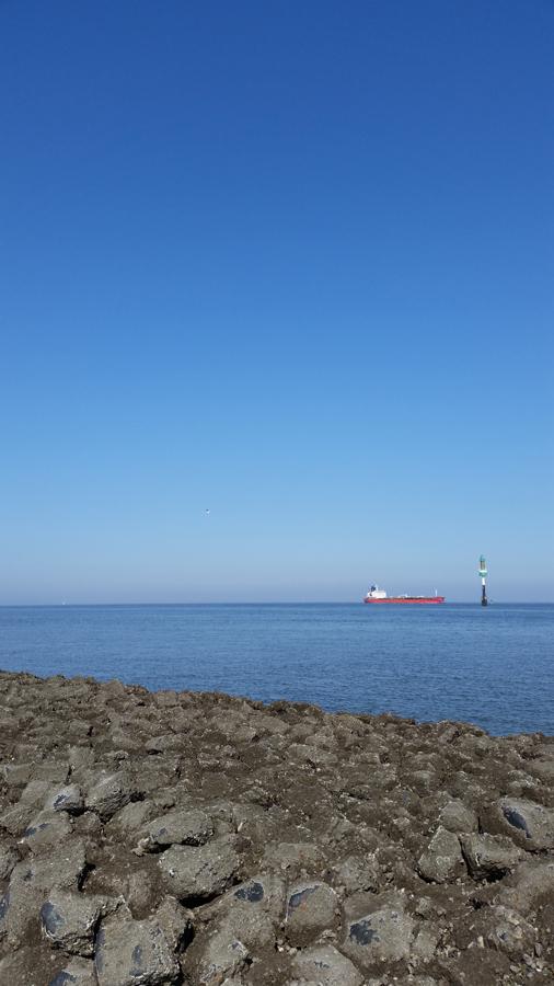 Abgrenzung vom Wattenmeer vor Cuxhaven und der Fahrrinne der Außenelbe