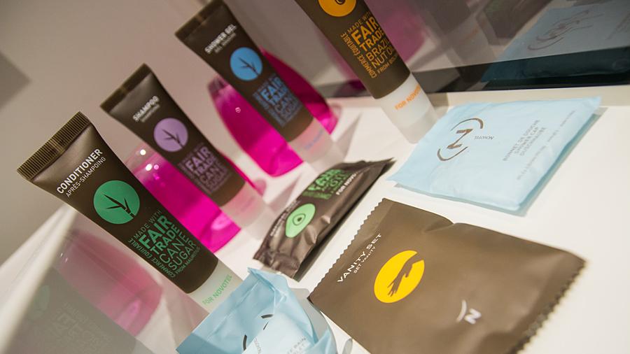 Novotel engagiert sich für Nachhaltigkeit - Fair Trade Kosmetikprodukte im Bad