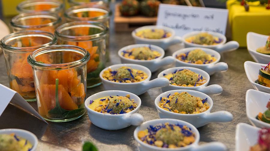 Frische und leckere Auswahl an Fingerfood