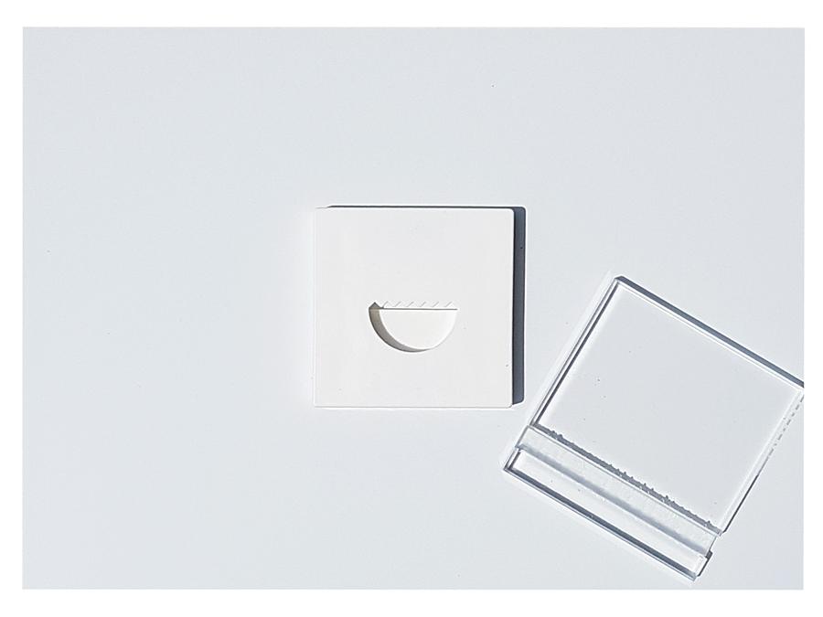 Rückseite Acrylbild - Halterung mit Magnet und Aufsteller